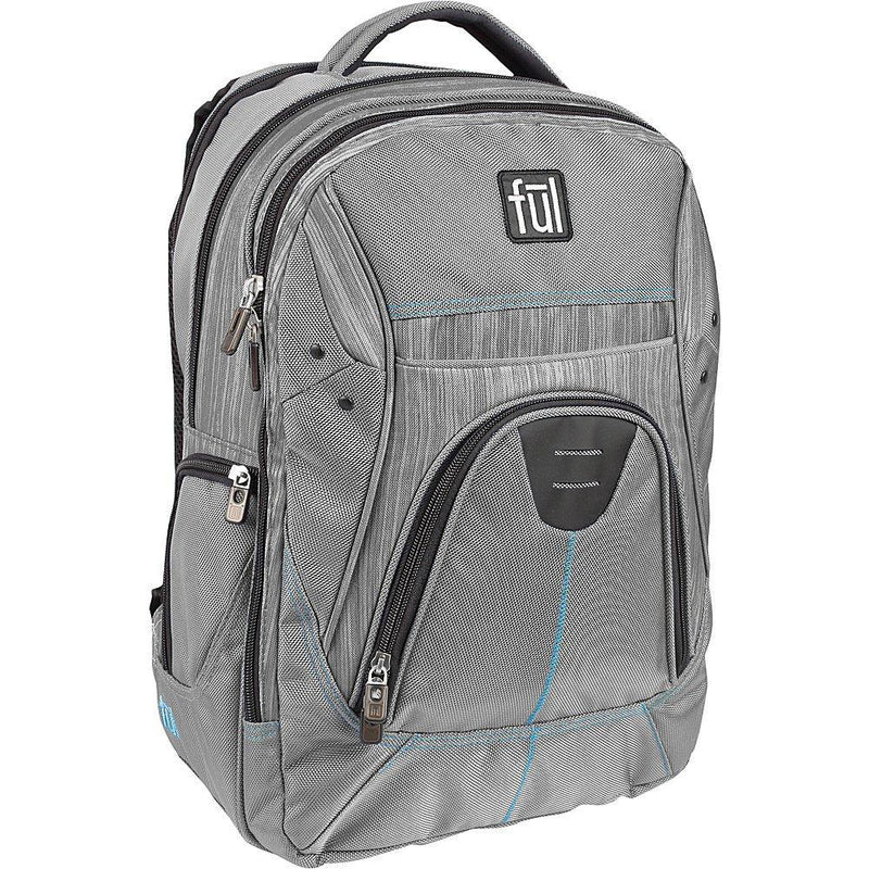 FUL Gung Ho Backpack Grey Accessories FUL