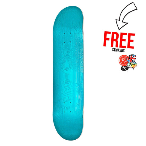 Primitive Skateboards Brian Peacock Foil 8.0, Teal