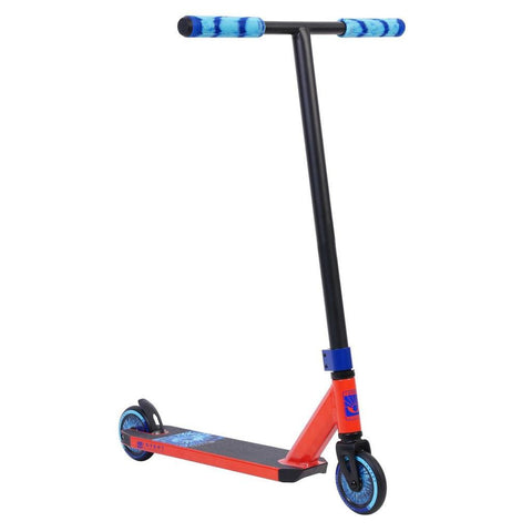 Invert Supreme Complete Stunt Scooter, Red, Black, Blue