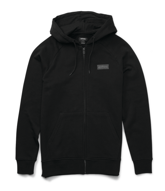 Etnies Core Icon Zip Hoodie, Black Clothing Etnies XX Large