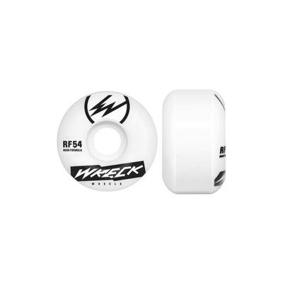 Wreck Skateboard Wheels Wider Shape, 54mm Skateboard Wreck Wheels
