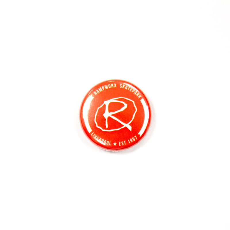 Rampworx Logo Badge, Red Accessories Rampworx