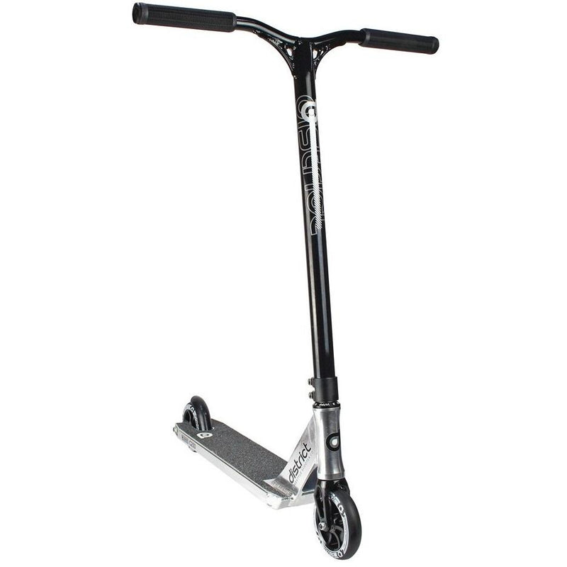 District C-Series C253 Complete Stunt Scooter - Polished/Black Stunt Scooter District