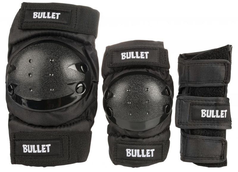 Bullet Combo Standard Padset Junior, Black Protection Bullet Large