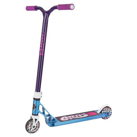 Grit Scooters 2018 Fluxx Complete Stunt Scooter, Iced Blue/Purple