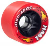 Suregrip Quad Wheels Zoom 96A (8 - Pack), Red