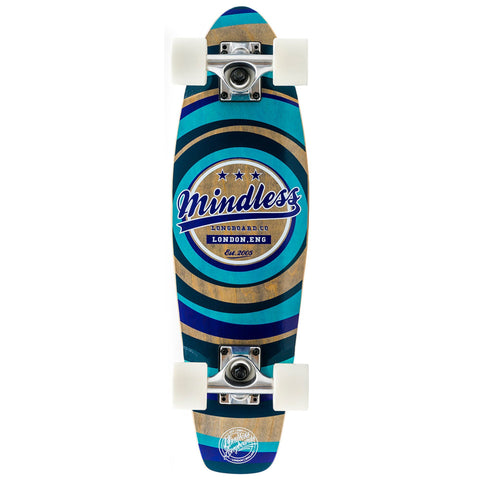 Mindless Longboard Stained Daily II Cruiser - Blue