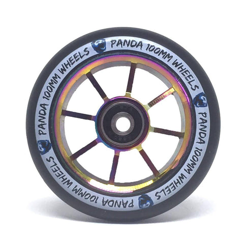 Panda Scooters 100mm Spoked Core Wheel, Oil Slick