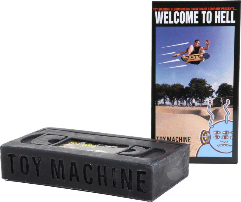 Toy Machine Skateboards VHS Wax, Black Wax Toy Machine