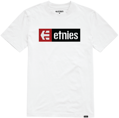 Etnies New Box Tshirt, White