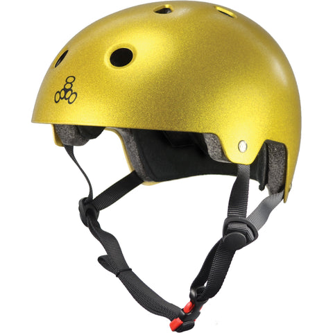 Triple 8 Helmet EPS Brainsaver - Metallic Gold