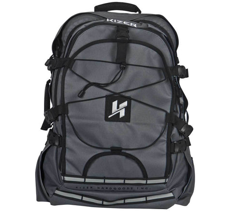 Kizer Weekender 2 Backpack Skatepack, Grey/Black