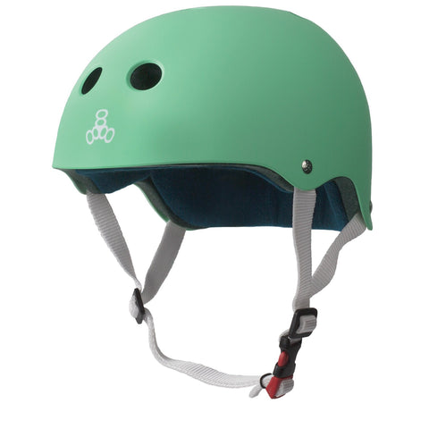 Triple 8 Certified Sweatsaver Helmet - Rubber Mint Green
