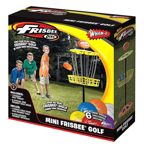 FRISBEE Mini Frisbee Golf Set