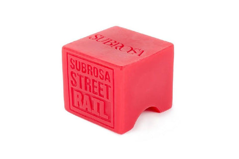 Subrosa Street Wax Block, Red
