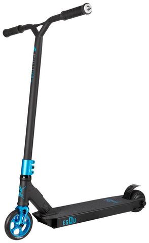 EsQu Electric Scooter Freestyle - Black/Blue 24V