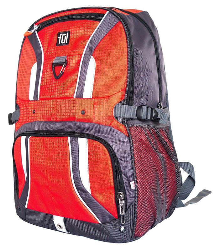 FUL Momentor Backpack Red/Grey Accessories FUL