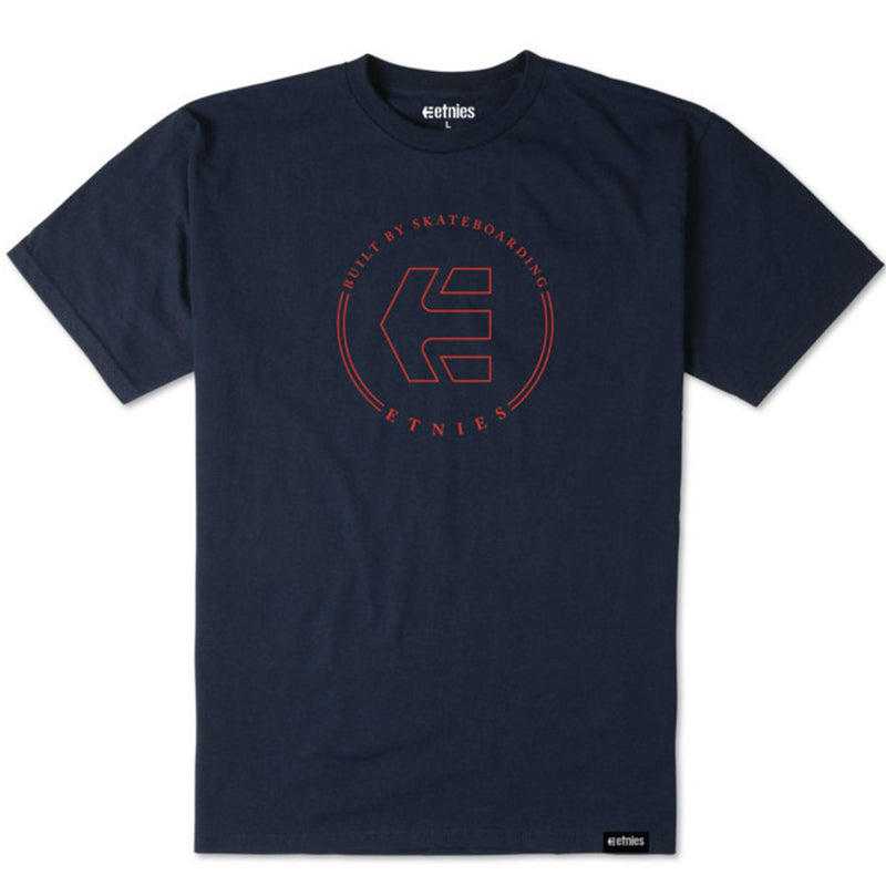 Etnies-Icon-Tee-Red