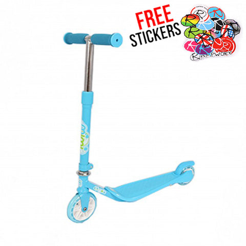 MiMi Kids Freestyle Scooter, Blue