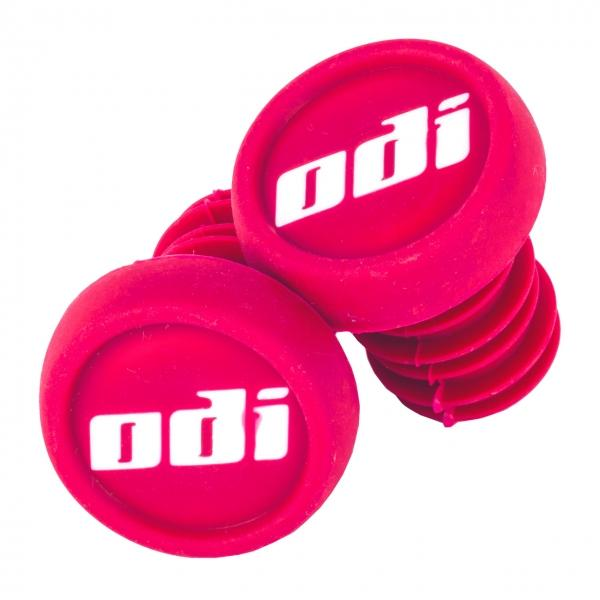 ODI Push In Bar Ends (2pcs), Pink BMX ODI