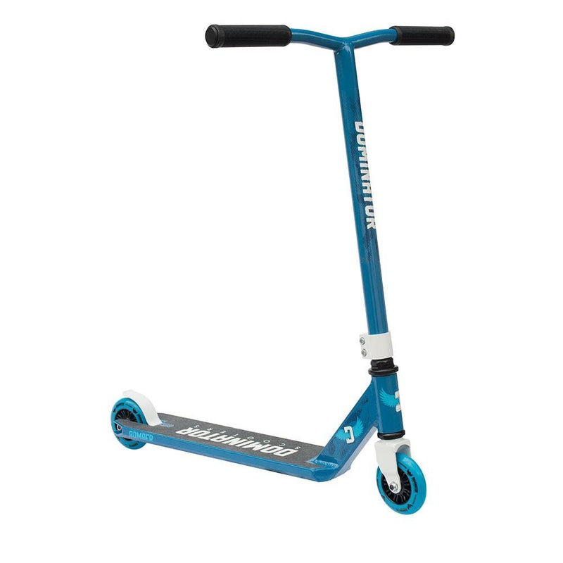 Dominator Scooters 2017 Bomber - Blue/White Stunt Scooter Dominator