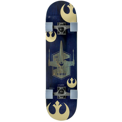 "Star Wars SKB X-Fighter Complete Skateboard 31""x8"""