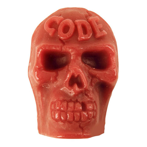 Skull Skate Wax, Blood Red