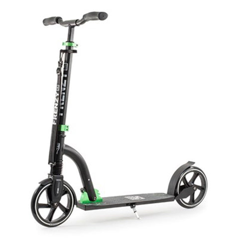 Frenzy Scooters 205mm Suspension Folding Scooter, Black