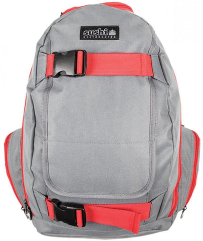 Sushi Skateboards Backpack, Grey