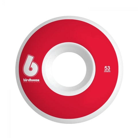 Birdhouse Skateboard Wheels B Logo Red 53 MM