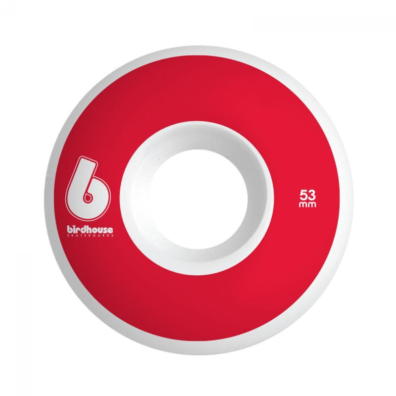 Birdhouse Skateboard Wheels B Logo Red 53 MM Skateboard Birdhouse