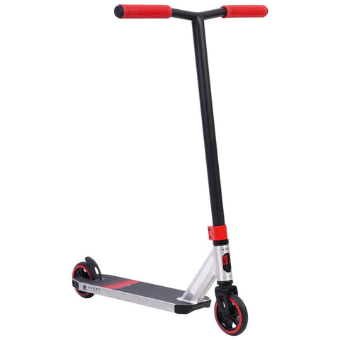 Invert Supreme 2-8-13 Complete Stunt Scooter, Silver, Black, Red