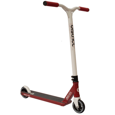 District Scooters C050 Complete Stunt Scooter, Red/White
