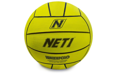 NET1 Water Polo Competition Ball Size 5 - Yellow