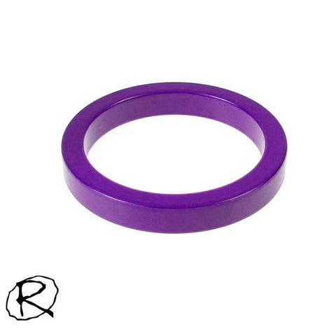 Rampworx 5mm Scooter Fork Spacer, Purple
