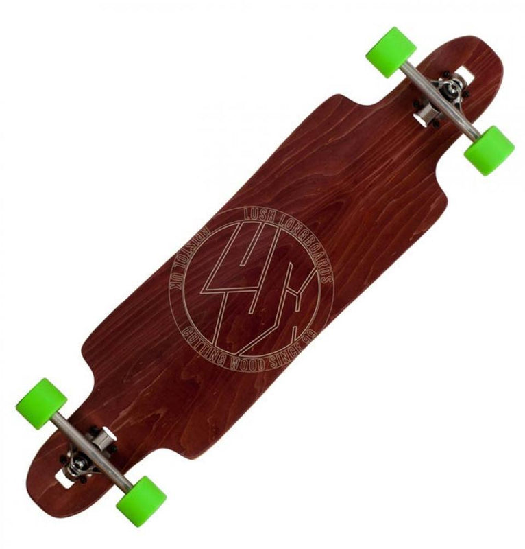 Lush Longboards Freebyrd, Red Skateboard Lush