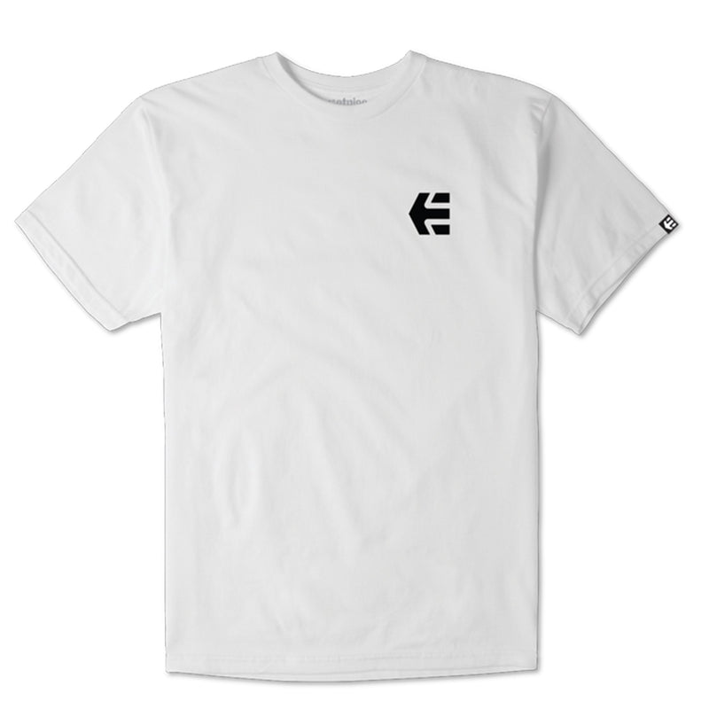 Etnies Mini Icon Tshirt, White Clothing Etnies Large
