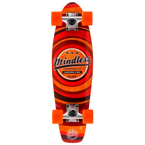 Mindless Longboard Stained Daily II Cruiser - Orange