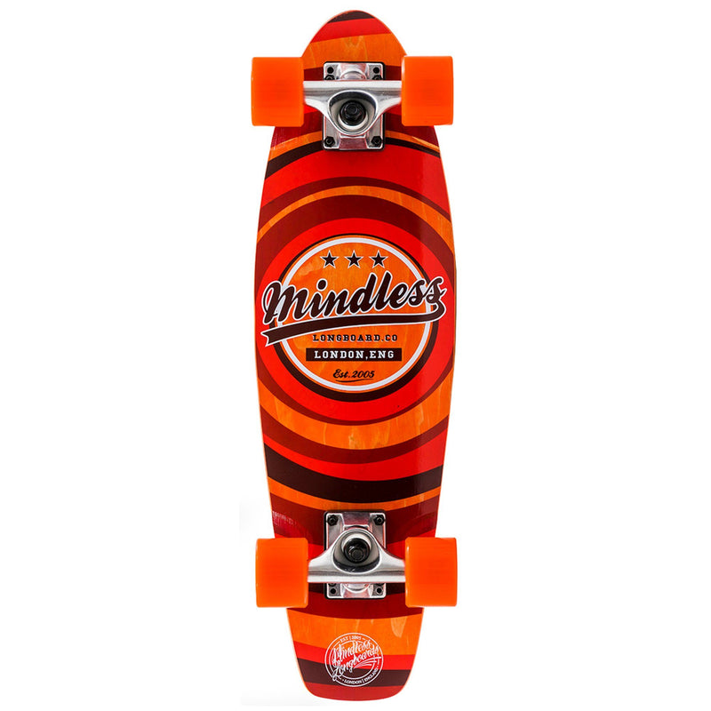 Mindless Longboard Stained Daily II Cruiser - Orange Skateboard Mindless