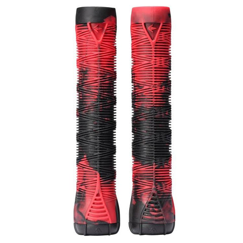 Blunt Scooters V2 Stunt Scooter Grips, Red/Black
