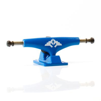 Fracture Trucks Wing Lows 5.0, Blue Skateboard Fracture
