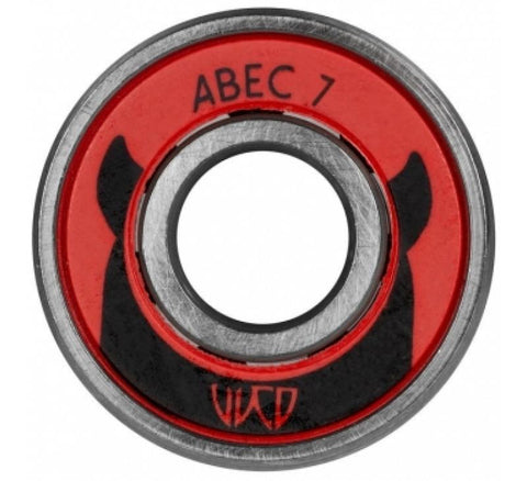 Wicked Bearings, ABEC 7 608, 8-Pack - Inline/Skate/Scooter