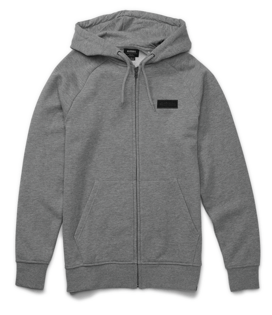 Etnies Core Icon Zip Hoodie, Grey Clothing Etnies XX Large