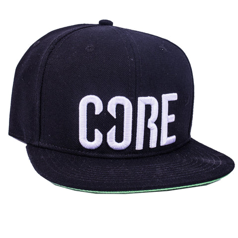 CORE Snapback Cap, Black