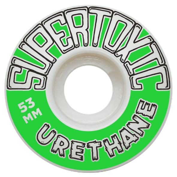 Super Toxic Urethane The Staple 53mm Skateboard Super Toxic