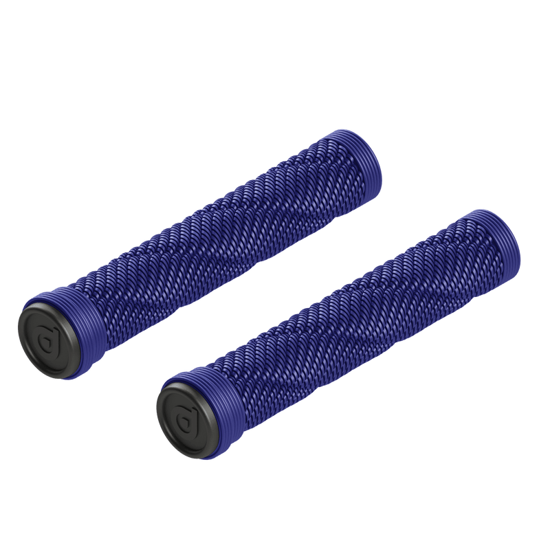 District Scooters Rope Stunt Scooter Grips, Blue BMX District