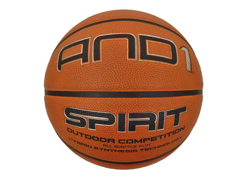 AND1 Spirit Basketball Size 6 - All Surface Hybrid