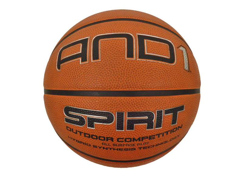 AND1 Spirit Basketball Size 6 - All Surface Hybrid Balls AND1
