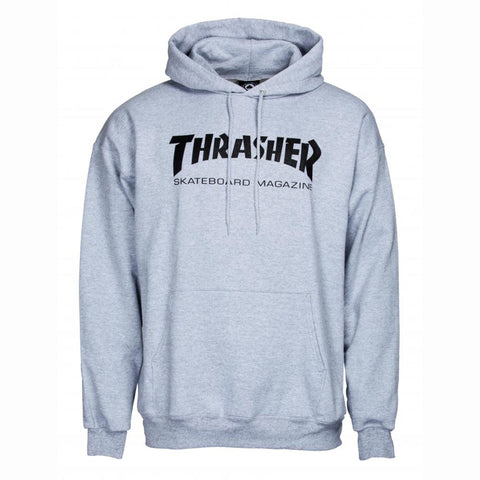 Thrasher Skate Mag Classic Hoody, Heather Grey