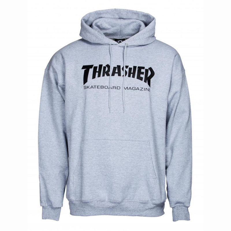 Thrasher Skate Mag Classic Hoody, Heather Grey Clothing Thrasher Large